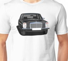 Mercedes-Benz W114/w115 illustration black Unisex T-Shirt