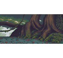 Pixel Forest Photographic Print