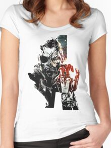 Metal Gear Solid V Women's Fitted Scoop T-Shirt