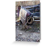 Rusty Car Greeting Card