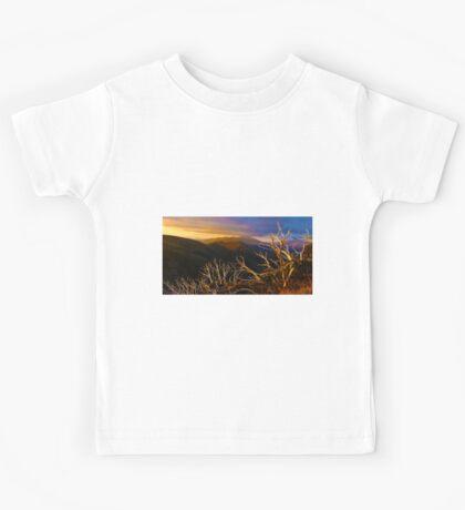 0389 Mt Hotham Brush Kids Tee