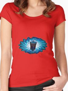 Dr Who - The Tardis Women's Fitted Scoop T-Shirt