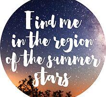 SUMMER STARS by hslim