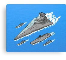 Upgrading the 6th fleet. Canvas Print