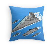 Upgrading the 6th fleet. Throw Pillow