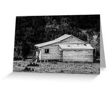 Beam Creek house Greeting Card