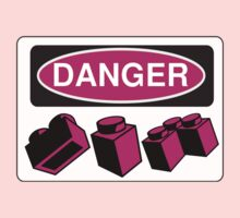 Danger Bricks Sign by Customize My Minifig  by ChilleeW