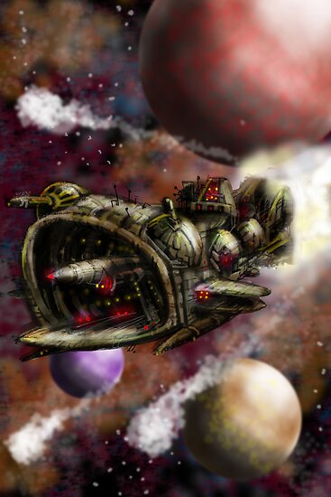 Starship Cruiser by MBJonly