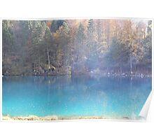 Blausee, near Kandersteg Poster