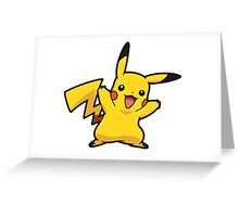 Happy Pika Greeting Card
