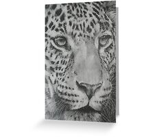 Up Close Leopard Greeting Card