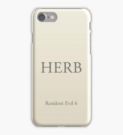 HERB iPhone Case/Skin