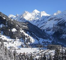 Kandersteg Village from Hoh by MiRoImage