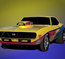 1968 Camaro SS 396 Dragster by TeeMack