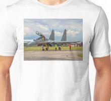 "Sukhoi Su-30MKI ""Flanker-F"" SB167 crewing in Unisex T-Shirt"