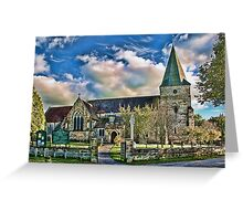 St Margaret The Queen Buxted Greeting Card