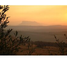 African Sunset on the Drakensberg Photographic Print