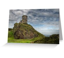 Mow Cop Castle, Biddulph  Greeting Card