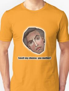 Smell my cheese, you mother! - Alan Partridge Tee T-Shirt