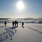 Winter Hike in the Peak District, Derbyshire by MiRoImage