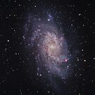 Messier#33 Triangulum Galaxy by astrochuck