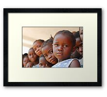 Brown Girl Framed Print
