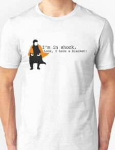 Sherlock Shock Blanket T-Shirt