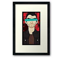 No Evil: Derek Framed Print