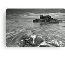 Old Coastal Defence Canvas Print