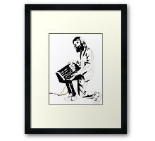 Breakbot - T-Shirt Framed Print