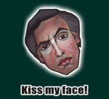 Kiss my face! - Alan Partridge Tee by YouRuddyGuys