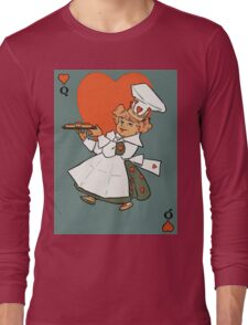 Queen of hearts in the kitchen Long Sleeve T-Shirt