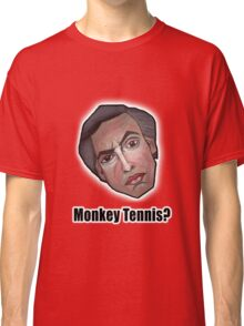 Monkey Tennis? - Alan Partridge Tee Classic T-Shirt