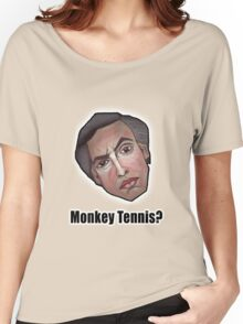 Monkey Tennis? - Alan Partridge Tee Women's Relaxed Fit T-Shirt
