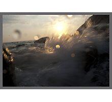 splashes Photographic Print