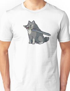 Pixel Great Grey Wolf Sif Unisex T-Shirt