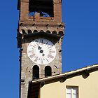 Stone Bell Tower (Campanile) Lucca, Italy by fg-ottico
