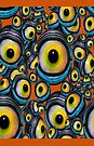 Halloween Eyeballs .. iphone case by LoneAngel