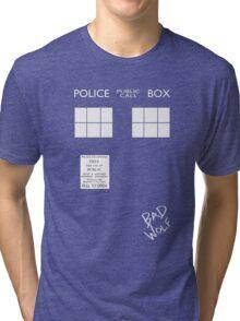 TARDIS costume shirt Tri-blend T-Shirt
