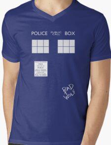 TARDIS costume shirt Mens V-Neck T-Shirt