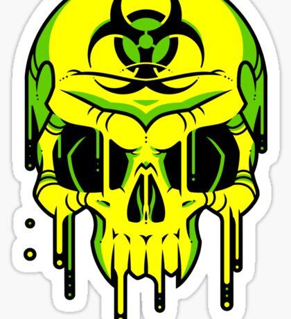 Toxic Melt Sticker