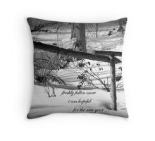 Hope For The New Year! Throw Pillow