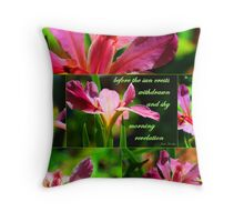 Morning Revelation Throw Pillow