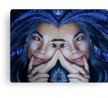 trueblue x 2 Canvas Print