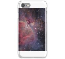 Messier#42 & 43 The Orion and Running Man Nebulas iPhone Case/Skin