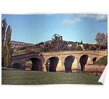 Spring, Richmond Bridge—Kodachrome 64 Poster