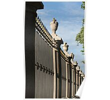 palace fence Poster