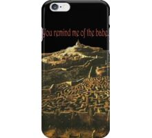 Babes beyond the goblin city iPhone Case/Skin
