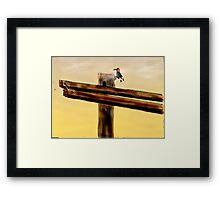 WODDY Framed Print