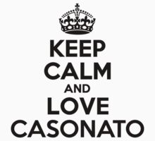 Keep Calm and Love CASONATO Kids Clothes